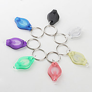 LED Flashlight Keychain 7-color White Light 22000 mcd LED Flashlight Keychain (Small)