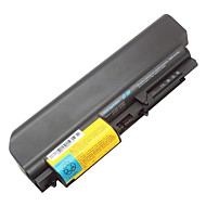 """9-cellers batteri for Lenovo ThinkPad R61 T61 r61i t61p serie (14,1 """"widescreen) R400 T400 42t5225 43r2499 42t4530 42t4531"""