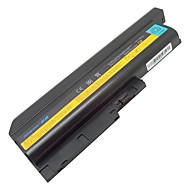 9-cellers batteri for IBM Lenovo ThinkPad T60 t60p SL300 SL400 SL500 R500 T500 W500 r60 r60e r60i R61 r61e t61i T61