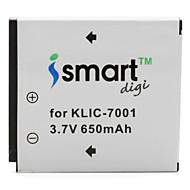 ismart Digitalkamera Batteri för Kodak EasyShare M753 Zoom, är M893 och mer