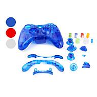 Custodia trasparente per controller Xbox 360 - Colori assortiti