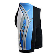 Jaggad - Mens Cycling Bottom with 80%Nylon 20%Lycra (Red/Blue/Yellow)