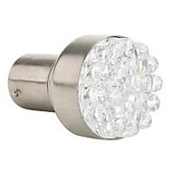 1157 18-LED 100MA 1.68W 5500-6500K 12V White Light Car Bulb-Pair