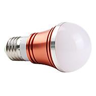 E27 3W 270lm crveno svjetlo crvene ljuske LED žarulja loptu (85-265V)