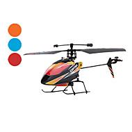 4-kanals Radiostyrd Helikopter(Blandade färger)