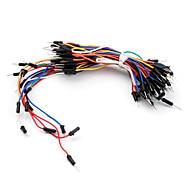 elektronik diy löda mindre flexibla kopplingsdäck jumper kablarna 65pcs