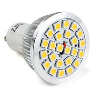 Focos LED MR16 GU10 / E26/E27 24 SMD 5050 300 LM Blanco Cálido / Blanco Natural V