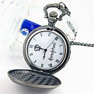 Zegar/zegarek Zainspirowany przez Black Butler Ciel Phantomhive Anime Akcesoria do Cosplay Zegar/zegarek Srebrny Slitina Męskie