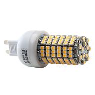 G9 7 W 138 SMD 3528 450 LM Warm White Corn Bulbs AC 220-240 V