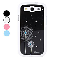 Dandelion Pattern Hard Case for Samsung Galaxy S3 I9300