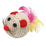 Sisal Ball Shape Mouse Style Cat Scratch Toys