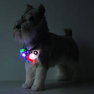 Kediler / Köpekler Etiketler LED Işıklar Kırmızı / Beyaz / Yeşil / Mavi / Pembe / Sarı / Turuncu Plastik