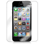 Przezroczysta Folia Ochronna na Ekran i Tył dla iPhona 5 wraz ze Ściereczką do Czyszczenia