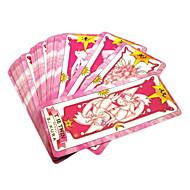 Enemmän lisävarusteita Innoittamana Cardcaptor Sakura Sakura Kinomoto Anime Cosplay-Tarvikkeet Kortti Musta Paperi Naaras