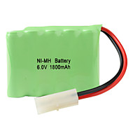 Ni-MH AA batterier (6V, 1800 mAh)