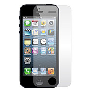 Clear Screen Protector with Cleaning Cloth for iPhone 5/5S