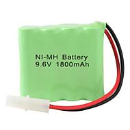 double layer Ni-MH AA paristo 6,2 portti (9.6V, 1800 mAh)
