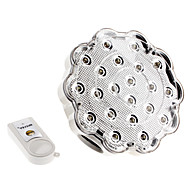 E26/E27 1.5 W 21 Dip LED 150 LM Cool White Rechargeable/Remote-Controlled Spot Lights AC 100-240 V