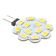 G4 3 W 12 SMD 5630 270 LM Warm White Bi-pin Lights DC 12 V