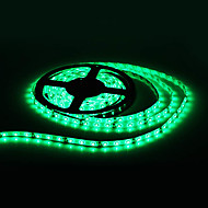 Waterproof 5M 300x3528 SMD Green Light LED Strip Lamp (12V)