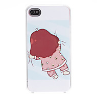 Cartoon Design Lovely Pattern Hard Case for iPhone 4/4S