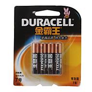 Duracell αλκαλικές 1.5V AAA μπαταρία (4-pack)