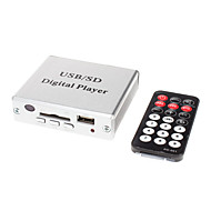 Mini MP3 USB SD Digital Player Amplifier with Remote Controller