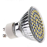 2W GU10 Spot LED MR16 48 SMD 3528 120 lm Blanc Naturel AC 100-240 V