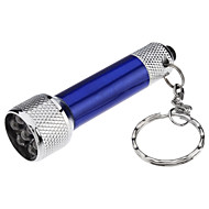 Mini Bright 7-LED Flashlight Torch Keychain (4xLR44)