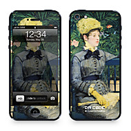 "Da Kode ™ Skin for iPhone 4/4S: ""In The Conservatory"" av Edouard Manet (Mesterverk Series)"