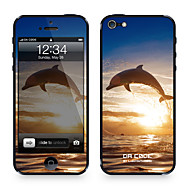 "Da Kode ™ Skin for iPhone 4/4S: ""Dolphine"" (Animals Series)"