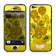 "Da Kode ™ Skin for iPhone 4/4S: ""Solsikker"" av Vincent van Gogh (Mesterverk Series)"
