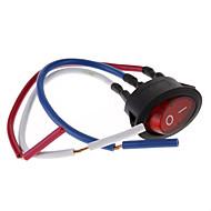 Rocker DIY Button Switch z 3 przewodami (6A 250V/10A 125V)