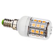 E14 3.5 W 30 SMD 5050 330 LM Warm White T Corn Bulbs AC 110-130 / AC 220-240 V