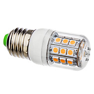 E26/E27 3.5 W 30 SMD 5050 360 LM Warm White Corn Bulbs AC 110-130/AC 220-240 V