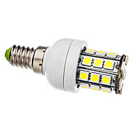 4W E14 LED Corn Lights T 30 SMD 5050 330 lm Natural White AC 110-130 / AC 220-240 V