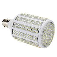B22 19W 330-LED 1000-1100LM 8000-8500K Холодный белый свет светодиодных кукурузы лампа (85-265В)
