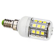 E14 3.5 W 30 SMD 5050 330 LM Natural White Corn Bulbs AC 110-130/AC 220-240 V