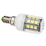 E14 3.5W 30x5050smd 커버 LED 옥수수 전구 (AC 110-130/ac 220-240 V)를 가진 300-330LM 6000-6500K 자연적인 백색 빛
