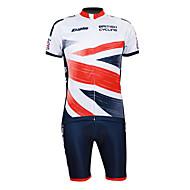 KOOPLUS Fahhrad/Radsport Trikot + Shorts/Radtrikot+Kurze Radhose / Kleidungs-Sets/Anzüge Herrn 1/2 ÄrmellängeAtmungsaktiv / Rasche
