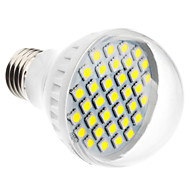 E26/E27 4 W 35 SMD 5050 350 LM Natural White A Globe Bulbs AC 220-240 V