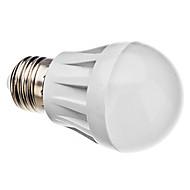 daiwl E27 3W 20x3014smd 240-270lm 6000-6500k naturligt vitt ljus ledde bollen glödlampa (220V)