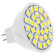 Lâmpadas de Foco de LED GU5.3(MR16) 5W 420 LM 6000K K Branco Natural 30 SMD 5050 DC 12 V MR16