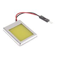 T10/BA9S/Festoon 2W natürliches weißes Licht COB-LED für Auto Leselampe (12V)