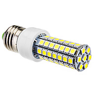 E26/E27 6 W 63 SMD 5050 550 LM Natural White Corn Bulbs AC 220-240 V