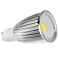 GU10 7W 450-500LM 5800-6500K Natural White COB LED Spot Bulb (110-240V)