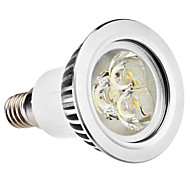 E14 3W 210-250LM 5800-6500K Natural White Light LED Spot lamppu (110-240V)