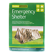 Outdoor Solutions Survival Emergency Shelter Tent - Zilver