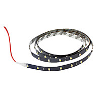 100cm 2W 60x3528smd wit licht led strip lamp voor auto (DC 12V)