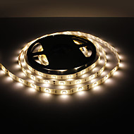 Waterproof 5M 30W 150x5050 SMD Warm White Light LED Strip Lamp (12V, IP44)